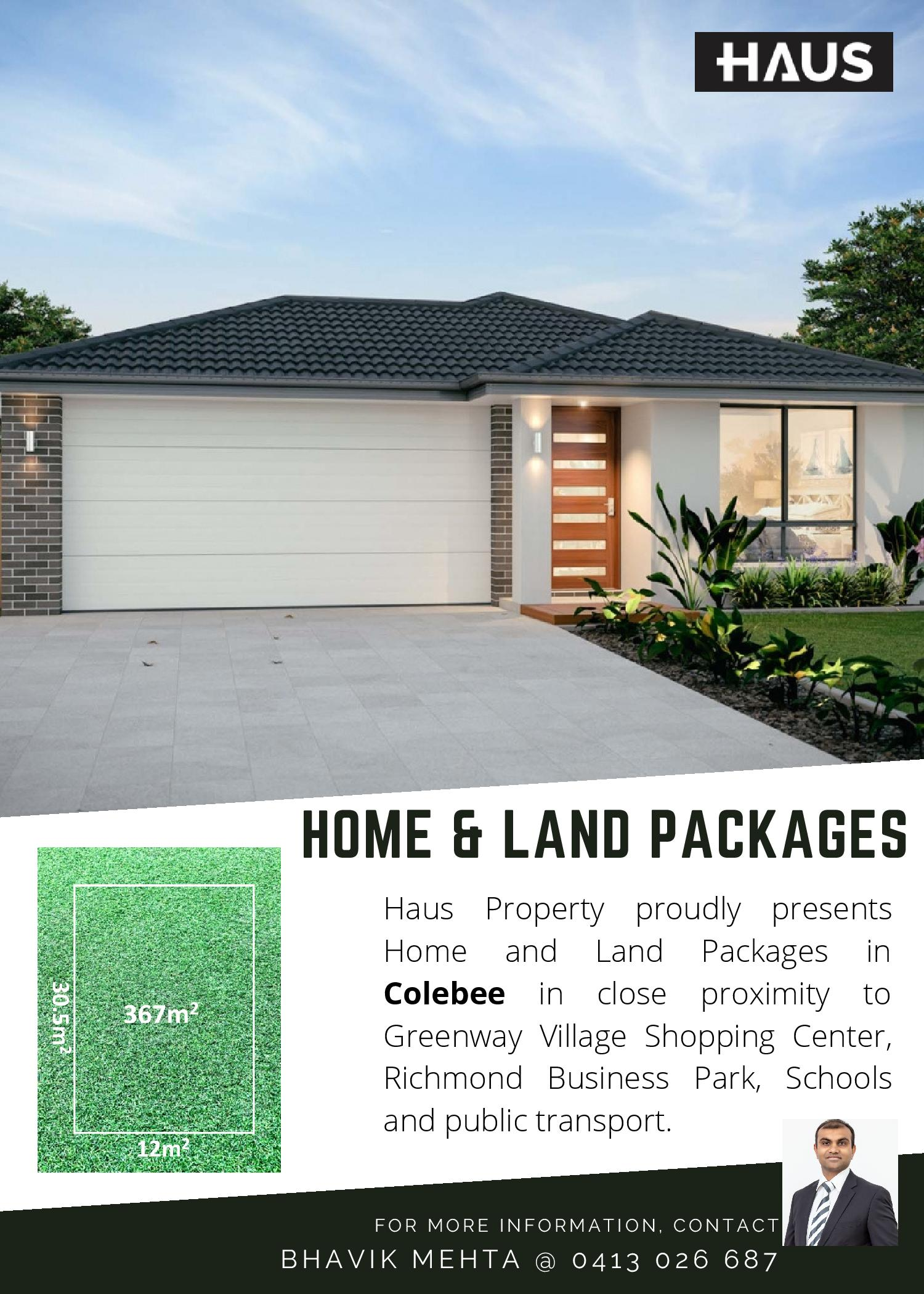 Brand New Home and Land Packages